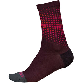 Endura PT Wave LTD Socken Herren maulbeere